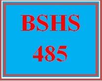 BSHS 485 Week 3 Persuasive Presentation
