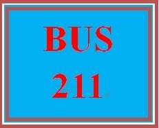 BUS 211 Week 3 Quiz