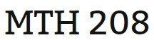 MTH 208 Week 5 Final Exam