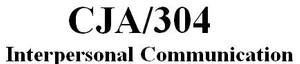 CJA 304 Week 2 Individual Paper - Verbal Communication