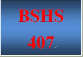 BSHS 407 Week 1 Causes and Consequences of Family Violence