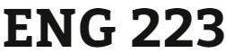 ENG 223 Week 2 Formal Messaging