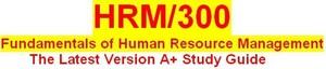 HRM 300 Week 2 Human Resource Management Department Brochure
