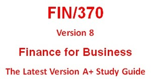 FIN 370 Week 2 Industry Averages and Financial Ratios Paper