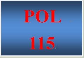 POL 115 Week 3 Public Policy Process Essay