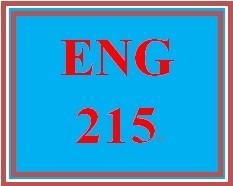 ENG 215 Week 4 Writing Summaries and Paraphrases