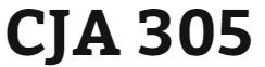 CJA 305 Week 2 Week Two Worksheet