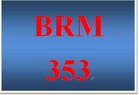 BRM 353 Week 2 ProductBrand Development Phase I