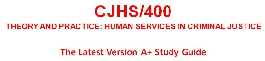 CJHS 400 Week 5 Resource File and Personal Theory Paper