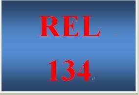 REL 134 Week 2 Knowledge Check