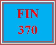 FIN 370 Week 3 Practice: Week 3 Knowledge Check