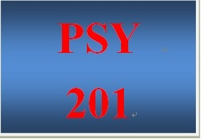 PSY 201 Entire Course