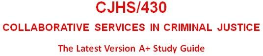 CJHS430 Week 5 Parole for the Elderly