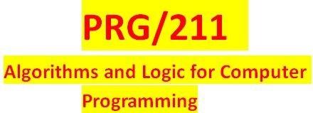 PRG 211 Week 2 Individual Visual Logic – Calculations