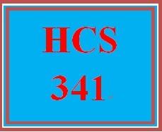 HCS 341 Wk 1 Discussion Board