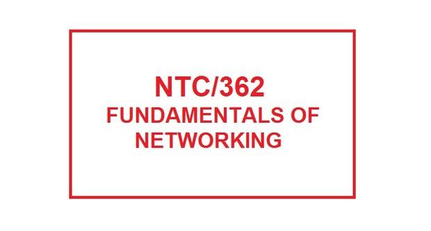 NTC 362 Week 3 Individual INDP Part 2