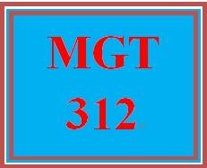 MGT 312T Wk 5 Discussion - Organizational Culture