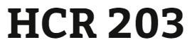 HCR 203 Week 3 RA/EOB Summary