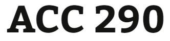 ACC 290 Week 5 - Real World