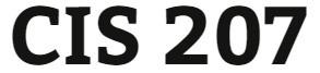 CIS 207 Week 2 Individual: Skills Management