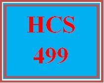 HCS 499 Week 1 Strategic Planning Process