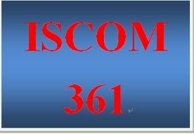 ISCOM 361 Week 5 Managing a Crisis Simulation