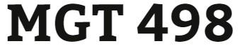 MGT 498 Week 5 Technological Development in Business