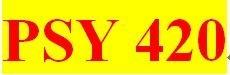 PSY 420 Week 3 participation Principles of Behavior, Ch. 7