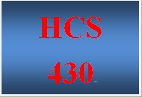 HCS 430 Week 4 Contracts and Liability.