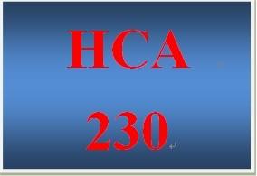 HCA 230 Week 1 The Communication Process Model