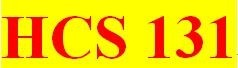 HCS 131 Week 5 participation Interactive Lectures