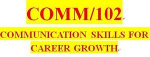 COMM 102 Week 2 Interpersonal Communication