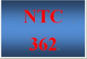 NTC 362 Week 1 Individual OSI Model Presentation