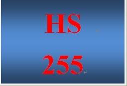 HS 255 Week 1 Navigating the HHS.gov Website