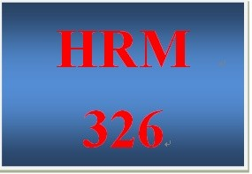HRM 326 Week 5 Professional Development Plan (PDP)