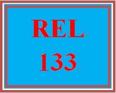 REL 133 Week 5 Knowledge Check
