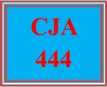 CJA 444 Week 5 Learning Team Leadership Exercise - Research Paper or PowerPoint Presentation