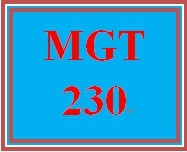 MGT 230 Wk 3 Discussion - Organizational Structure