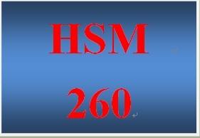 HSM 260 Week 2 Personal Balance Statement