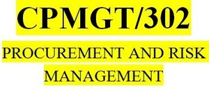 CPMGT 302 Week 5 Contracting Process Paper