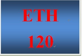 ETH 120 Week 3 Racial Diversity Presentation