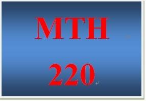 MTH 220 Week 5 participation Week 5 Supplemental Videos