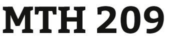 MTH 209 Week 1 Videos