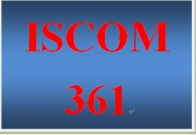 ISCOM 361 Week 3 Effective Supplier Evaluations