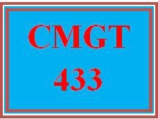 CMGT 433 Wk 1 Discussion - Security Requirements Related to Mobile and Cloud Computing