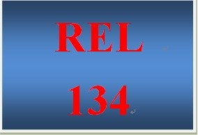 REL 134 Week 4 Understanding Islam