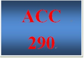 ACC 290 Week 5 participation Key Internal Controls