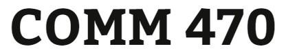 COMM 470 Week 2 Stakeholder Impact in Virtual Organizations