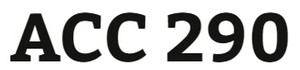 ACC 290 Week 2 Charter for Collaborative Learning Activities