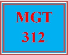 MGT 312T All Discussions